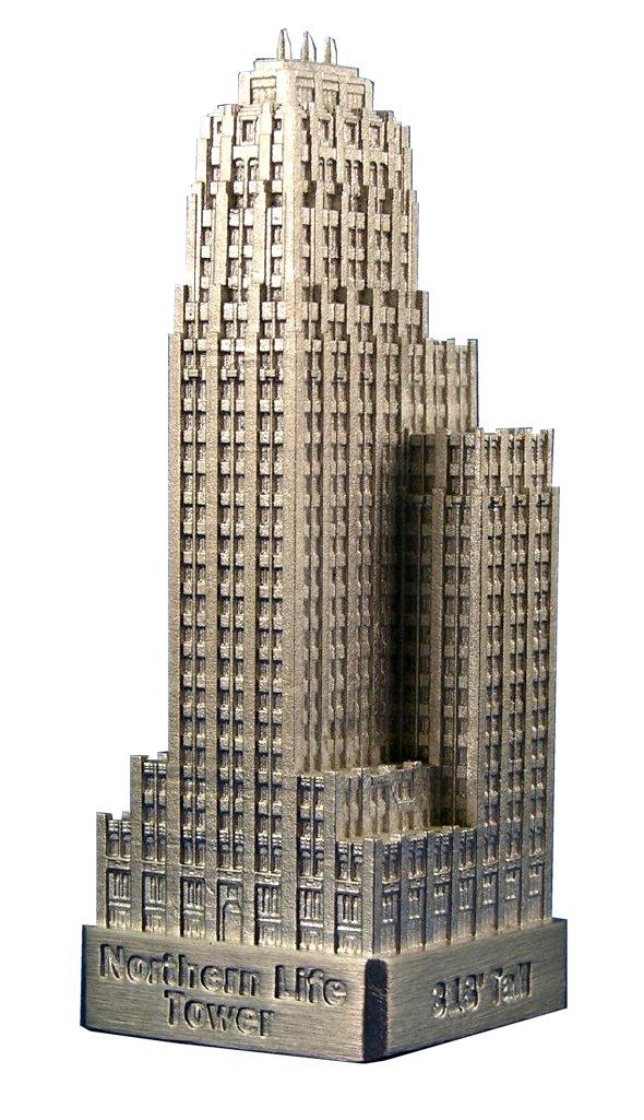 Miniature Buildings Infocustech Northern Life 100 Seattle